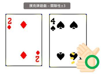 兒童專注力訓練遊戲_撲克牌遊戲-找關聯